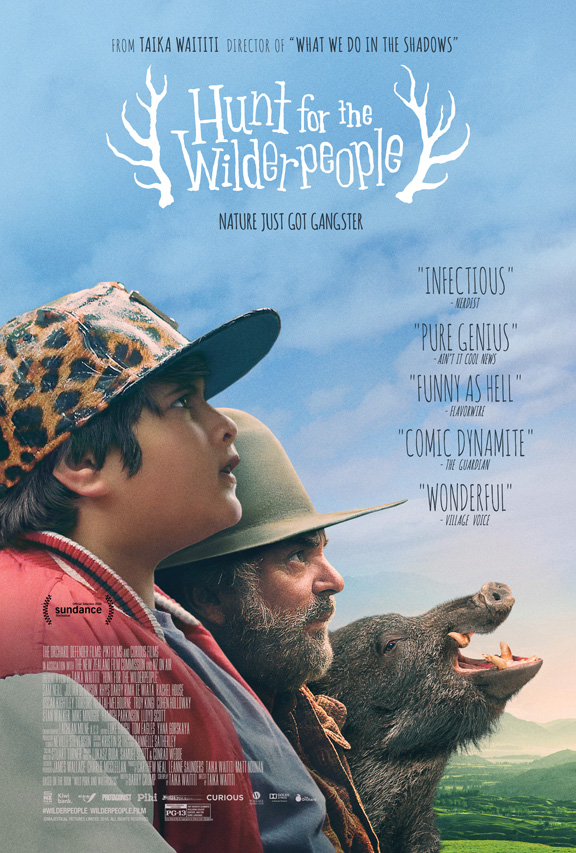 hunt for the wilderpeople poster compressed