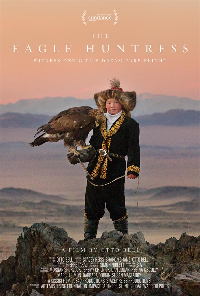 Image result for the eagle huntress poster